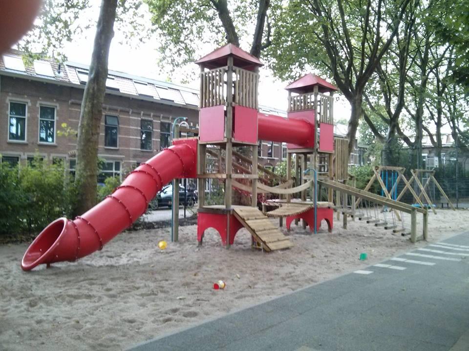 Genoeg ruimte om te spelen en te sporten