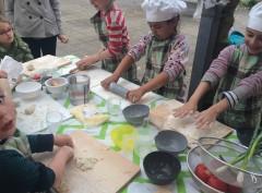 Buitenkeuken; gezonde voeding & bewust beleven